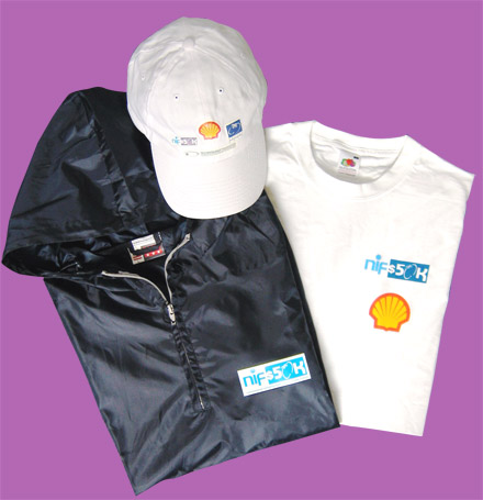 Shell Competition clothing